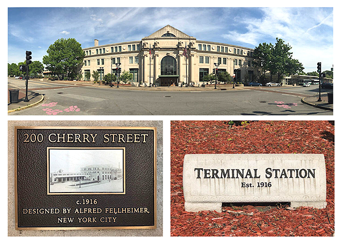 Terminal Station Collage